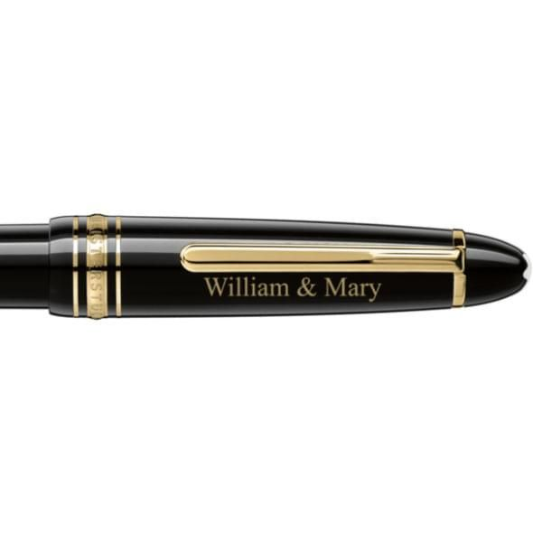 College of William & Mary Montblanc Meisterstück LeGrand Ballpoint Pen in Gold - Image 2