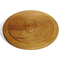 College of Charleston Round Bread Server