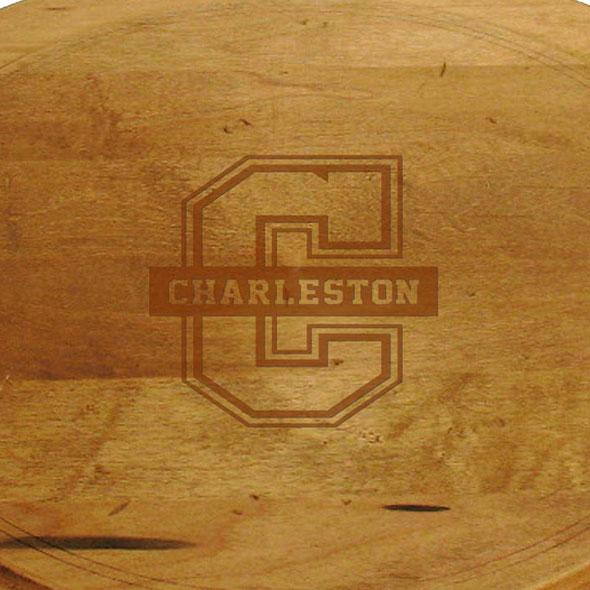 College of Charleston Round Bread Server - Image 2