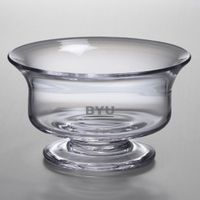 Brigham Young University Simon Pearce Glass Revere Bowl Med