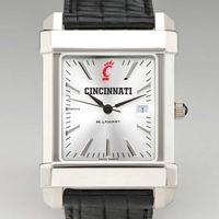 Cincinnati Men's Collegiate Watch with Leather Strap