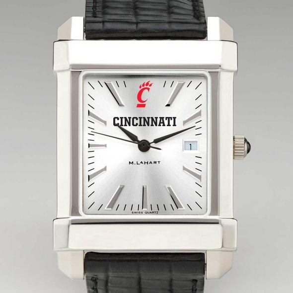 Cincinnati Men's Collegiate Watch with Leather Strap - Image 1
