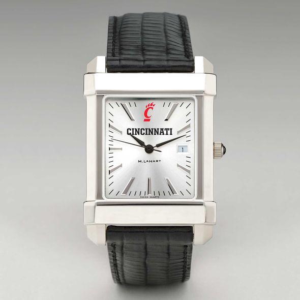 Cincinnati Men's Collegiate Watch with Leather Strap - Image 2
