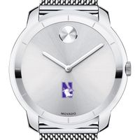 Northwestern University Men's Movado Stainless Bold 44
