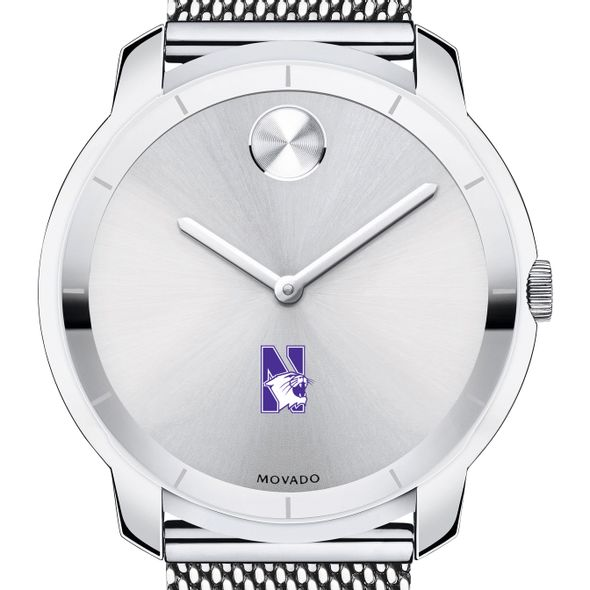 Northwestern Men's Movado Stainless Bold 44