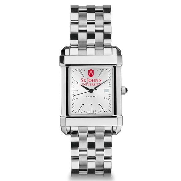 St. John's Men's Collegiate Watch w/ Bracelet - Image 2