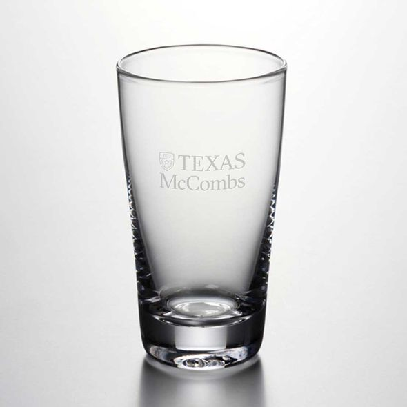 Texas McCombs Ascutney Pint Glass by Simon Pearce - Image 1