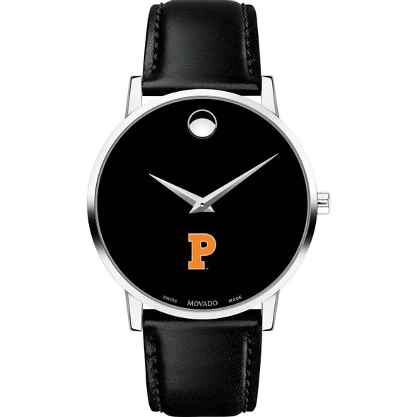 Princeton University Men's Movado Museum with Leather Strap - Image 2