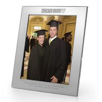 Chicago Booth Polished Pewter 8x10 Picture Frame