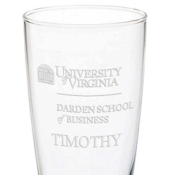 UVA Darden 20oz Pilsner Glasses - Set of 2 - Image 3