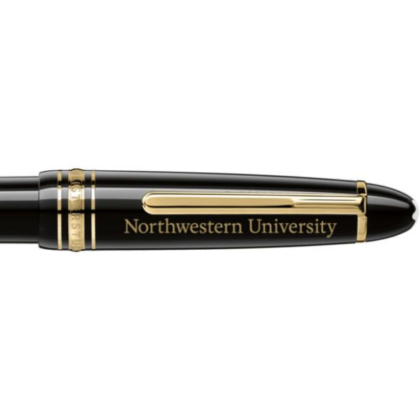 Northwestern University Montblanc Meisterstück LeGrand Ballpoint Pen in Gold - Image 2