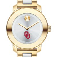 University of Oklahoma Women's Movado Two-Tone Bold