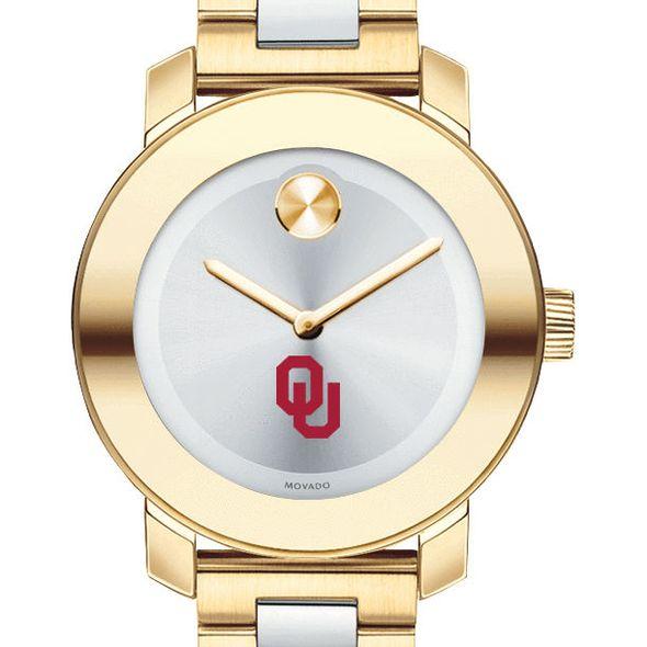 University of Oklahoma Women's Movado Two-Tone Bold