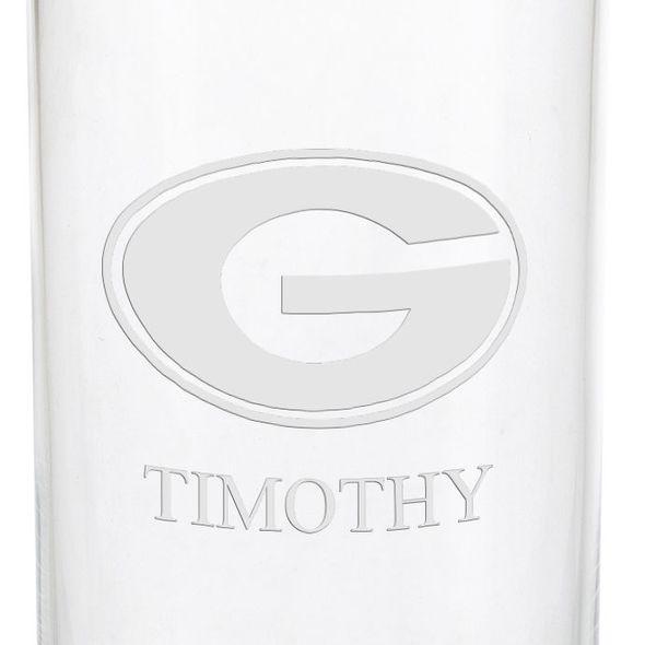 University of Georgia Iced Beverage Glasses - Set of 2 - Image 3
