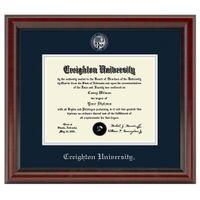 Creighton Diploma Frame, the Fidelitas