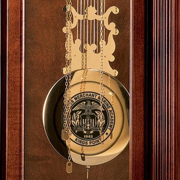 Merchant Marine Academy Howard Miller Grandfather Clock - Image 2