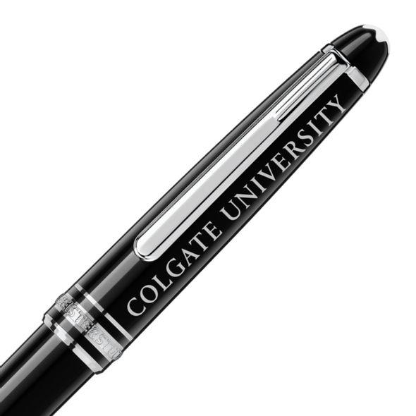 Colgate Montblanc Meisterstück Classique Ballpoint Pen in Platinum - Image 2