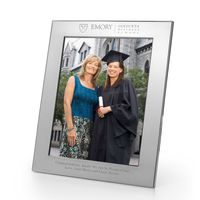 Emory Goizueta Polished Pewter 8x10 Picture Frame