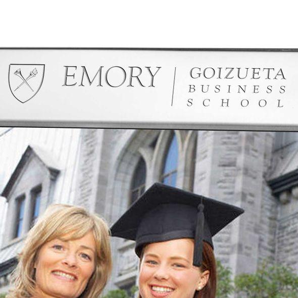 Emory Goizueta Polished Pewter 8x10 Picture Frame - Image 2