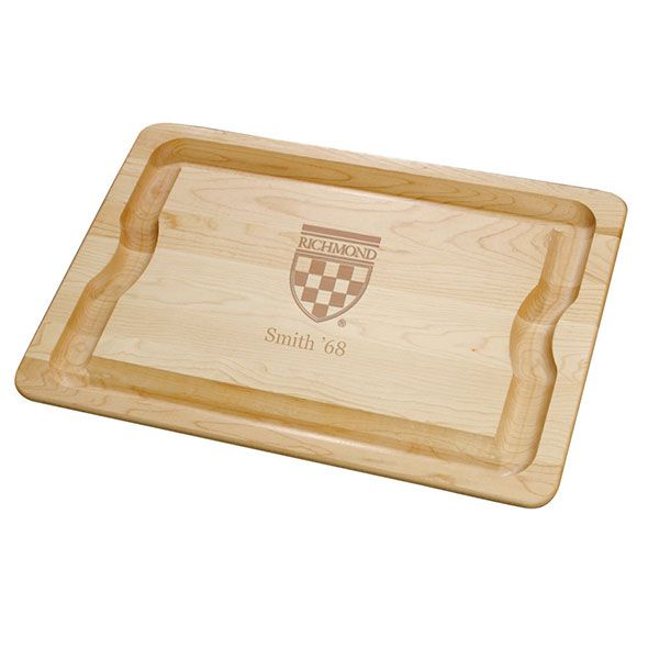 University of Richmond Maple Cutting Board
