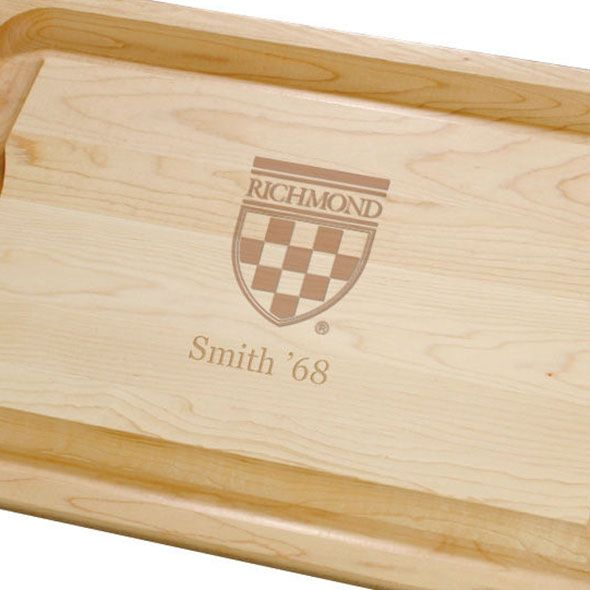 University of Richmond Maple Cutting Board - Image 2