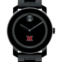 Miami University Men's Movado BOLD with Bracelet