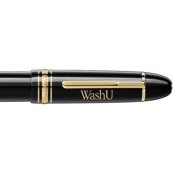 WashU Montblanc Meisterstück 149 Fountain Pen in Gold - Image 2