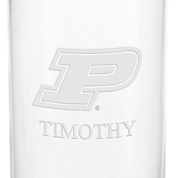 Purdue University Iced Beverage Glasses - Set of 4 - Image 3