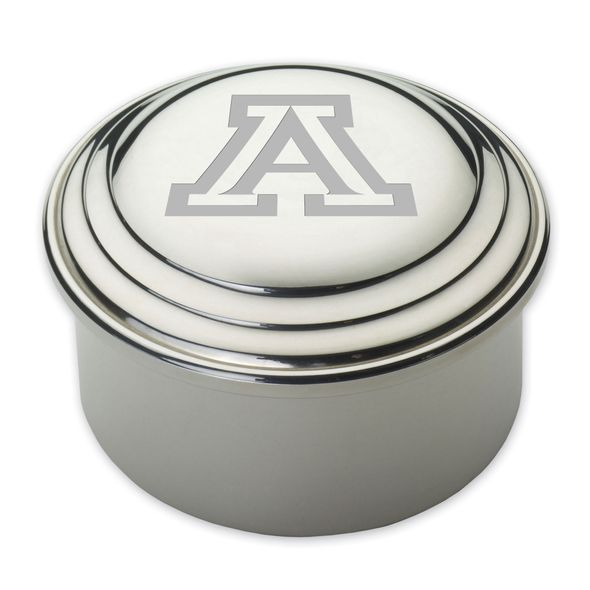 University of Arizona Pewter Keepsake Box
