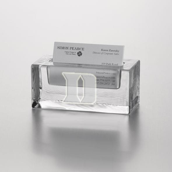 Duke Glass Business Cardholder by Simon Pearce - Image 2