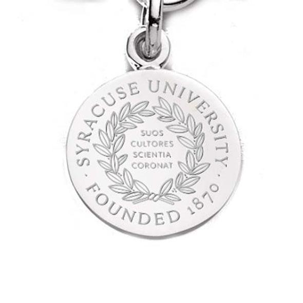 Syracuse University Sterling Silver Charm