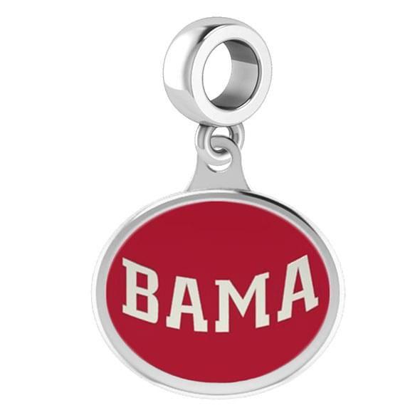 Alabama Round Enameled Drop Charm - Image 2