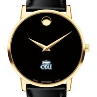 Old Dominion Men's Movado Gold Museum Classic Leather