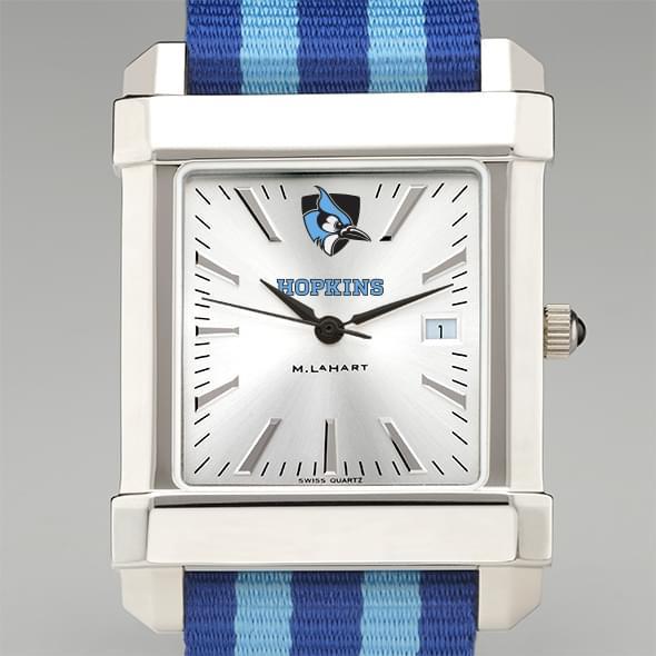 Johns Hopkins University Collegiate Watch with NATO Strap for Men