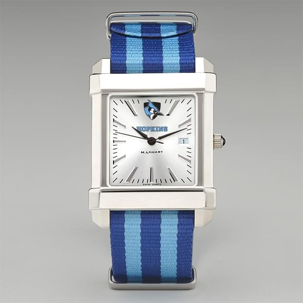 Johns Hopkins University Collegiate Watch with NATO Strap for Men - Image 2