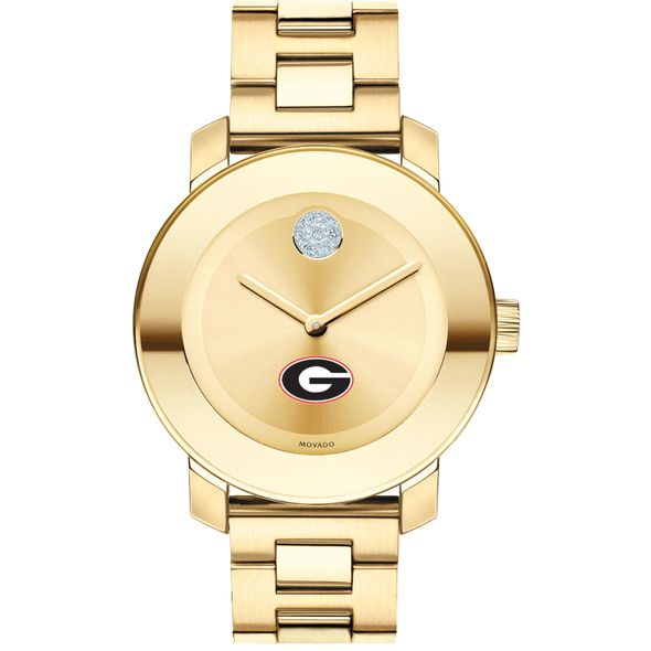 University of Georgia Women's Movado Gold Bold - Image 2
