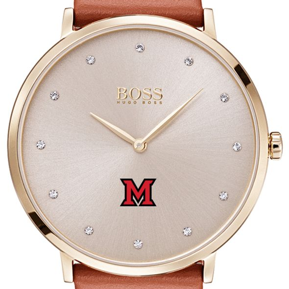 Miami University Women's BOSS Champagne with Leather from M.LaHart