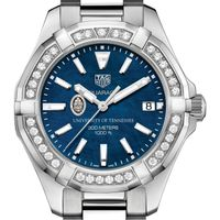 Tennessee Women's TAG Heuer 35mm Steel Aquaracer with Blue Dial