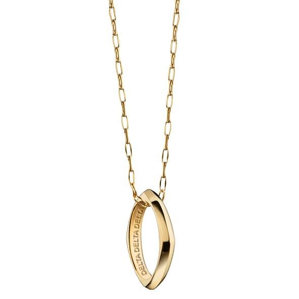 DDD Monica Rich Kosann Poesy Ring Necklace in Gold - Image 1