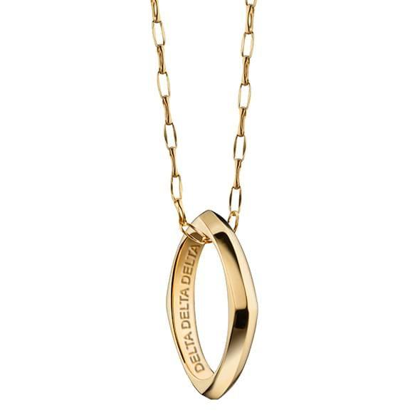 DDD Monica Rich Kosann Poesy Ring Necklace in Gold - Image 2