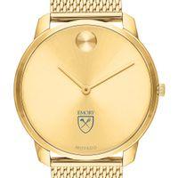 Emory Men's Movado Bold Gold 42 with Mesh Bracelet