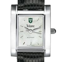 Tulane Women's MOP Quad with Leather Strap