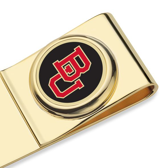 Boston University Enamel Money Clip - Image 2