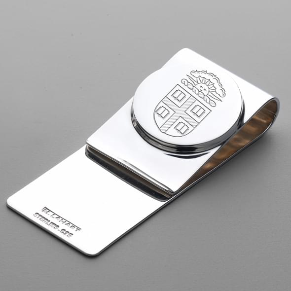 Brown Sterling Silver Money Clip - Image 2