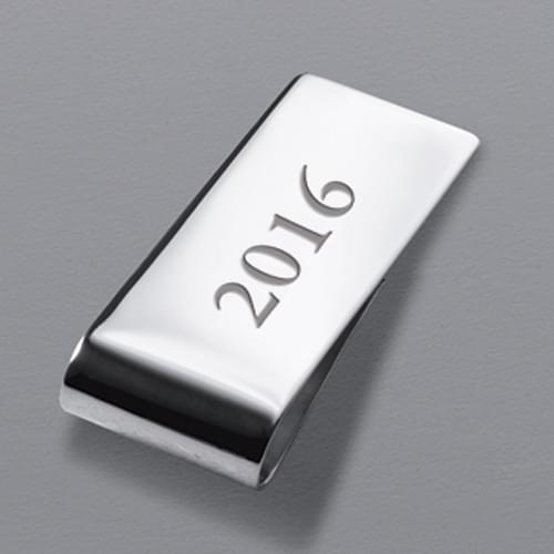 Brown Sterling Silver Money Clip - Image 3