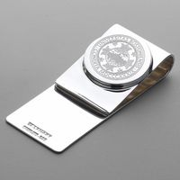 Boston University Sterling Silver Money Clip