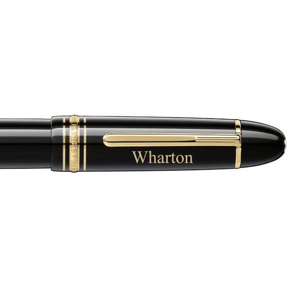 Wharton Montblanc Meisterstück 149 Fountain Pen in Gold - Image 2