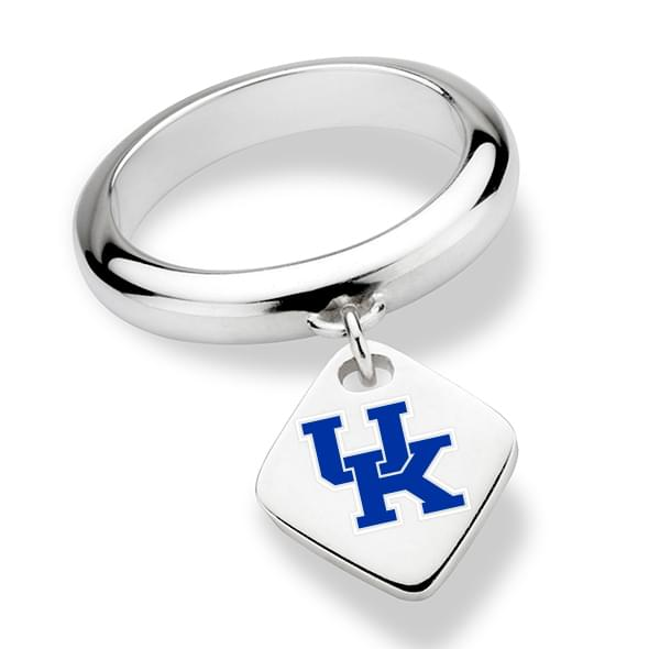University of Kentucky Sterling Silver Ring with Sterling Tag
