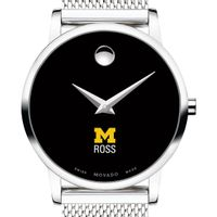 Ross School of Business Women's Movado Museum with Mesh Bracelet