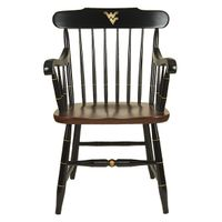 West Virginia University Captain's Chair by Hitchcock
